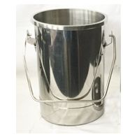 NEW Six (6) Quart Milking Machine Bucket (No Lid)