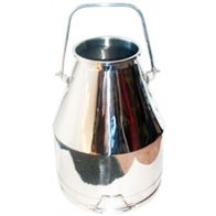 7 Gallon Stainless Steel Bucket Without Lid