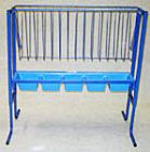 4 Foot Bunk Feeder with Poly Pan