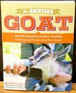 The Backyard Goat by Sue Weaver